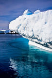 Iceberg énorme en Antarctique photos libres de droits