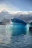 Iceberg. Floating iceberg on lagoon Jokulsarlon Iceland Royalty Free Stock Photos