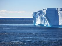 Iceberg. A large iceberg floating in the ocean in Antarctica Royalty Free Stock Images