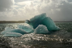 Iceberg. Gigantic iceberg floating on Jokulsarlon lagoon Iceland Royalty Free Stock Photography
