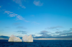 Iceberg. An Iceberg floating in the Disco Bay near Greenland Stock Images