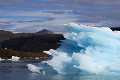 Iceberg. Big iceberg near the greenland coast Royalty Free Stock Photography