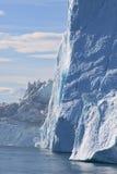 Iceberg. Fiord ilullissat in west greenland Stock Photography