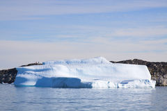 Iceberg. Near the greenland coast Royalty Free Stock Images