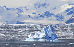 Climate Change in Antarctica Stock Photography