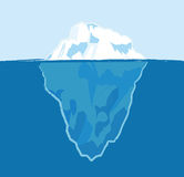 Iceberg illustration libre de droits