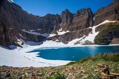 Iceberg湖 图库摄影