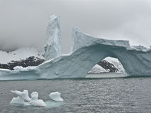 Iceberg 4 de Ant3artida Imagen de archivo libre de regalías