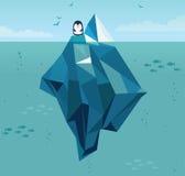 iceberg ilustracji
