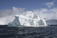 Iceberg. Floating near Goudier Island, Antarctica Royalty Free Stock Photo