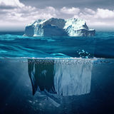 iceberg photo stock