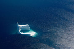 Iceberg aerial Royalty Free Stock Images