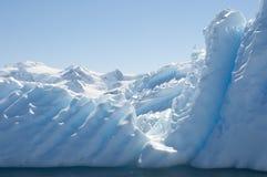 Iceberg in Antarctic ocean stock photography