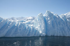 Iceberg in Antarctic ocean Royalty Free Stock Image