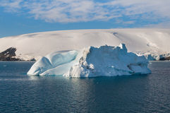 Iceberg in antarctic peninsula Royalty Free Stock Images