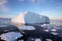 Iceberg in Antarctic Waters Royalty Free Stock Image