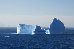 Iceberg in Antarctica. Iceberg floating by in Antarctica Stock Image