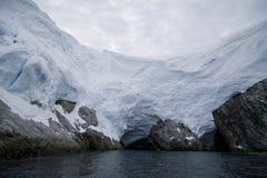 Iceberg in Antarctica Stock Photo