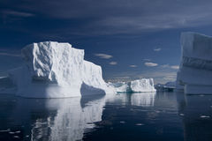 Iceberg in Antarctica Stock Images