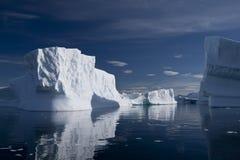 Iceberg in Antarctica stock images