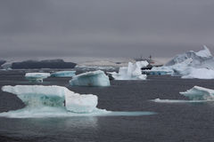 Iceberg in Antarctica Stock Photography