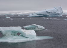 Iceberg in Antarctica Stock Photo