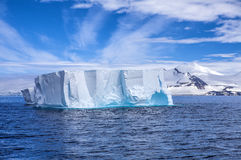 Iceberg in Antarctica Landscape-2 Royalty Free Stock Photo