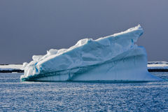 Iceberg antarctique Photos stock