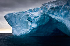 Iceberg antarctique Photo libre de droits