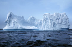Iceberg, Antarctique Image stock