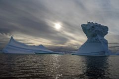 Iceberg antarctique photos libres de droits