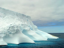 Iceberg, Antarctique Photo stock