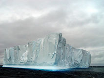 Iceberg, Antarctique Photographie stock