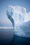 Iceberg antartico Fotografie Stock