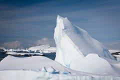 Iceberg antartico Immagini Stock