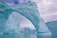 Iceberg arch Royalty Free Stock Photography
