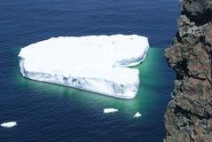 Iceberg in the Atlantic Royalty Free Stock Image