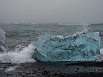 Iceberg on Atlantic coasts Royalty Free Stock Photography