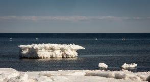 Iceberg on the atlantic ocean Stock Photos