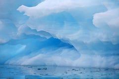 Iceberg background Stock Photography