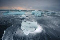 Iceberg beach Royalty Free Stock Image