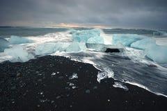 Iceberg beach Royalty Free Stock Photo