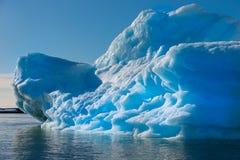 Iceberg. Beautiful blue iceberg in Antarctica Stock Photography