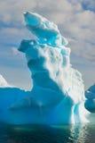 Iceberg. Beautiful iceberg in remote Antarctica Stock Photography