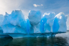 Iceberg. Beautiful iceberg in remote Antarctica Royalty Free Stock Image