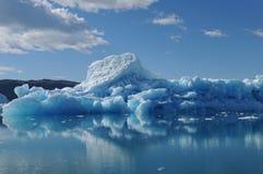 Iceberg. Big blue iceberg, raw beauty of Greenland Royalty Free Stock Photography