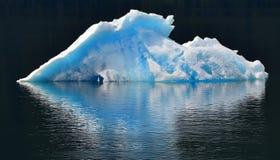 Iceberg.Black background. Royalty Free Stock Image