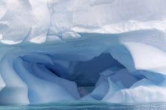 Iceberg blu 4 Fotografia Stock
