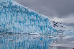 Iceberg blue Royalty Free Stock Image