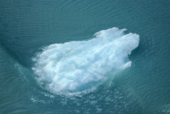 Iceberg. Blue iceberg in the pacific ocean by Alaska Royalty Free Stock Images